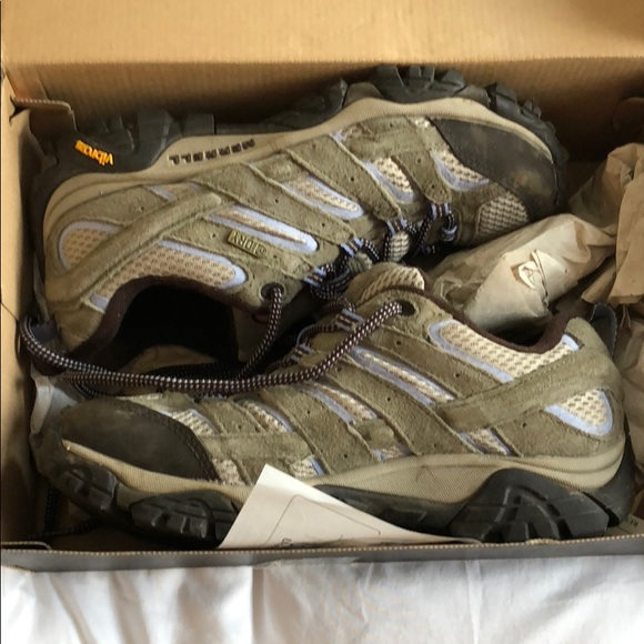9233d1765eb Merrell Moab 2 WTPF hiking shoes in dusty olive